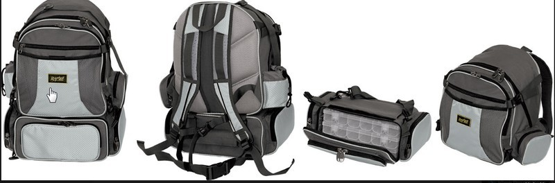 GUIDEMASTER RUCKSACKS FOR LURE FISHING.  single, double and box