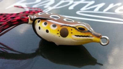 RAPTURE DANCER FROG  45mm  7g weight  internal rattle, great for Pike in the spring  sale price