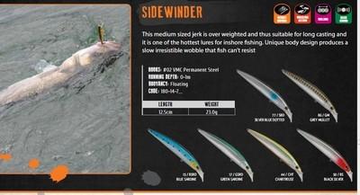 Rapture Sidewinder Lure 23g similar to megabass zonk