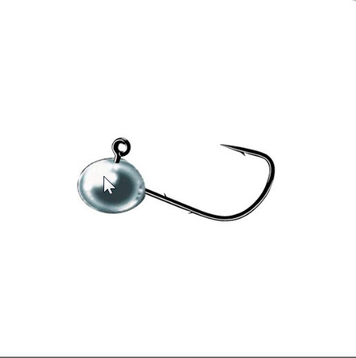 Micro jig heads for small soft plastics with retaining barbs 3 per pack