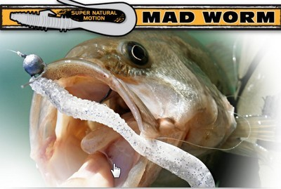 Mad worm 4 inch