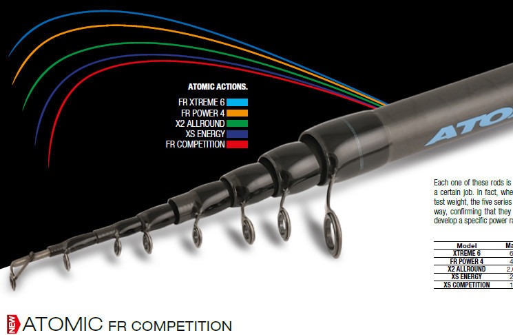ATOMIC FR Competition 600 30g  available ex Italy 4 weeks delivery time