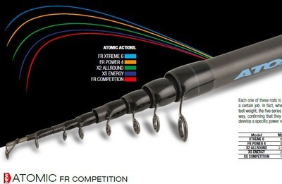 ATOMIC FR Competition 600 30g