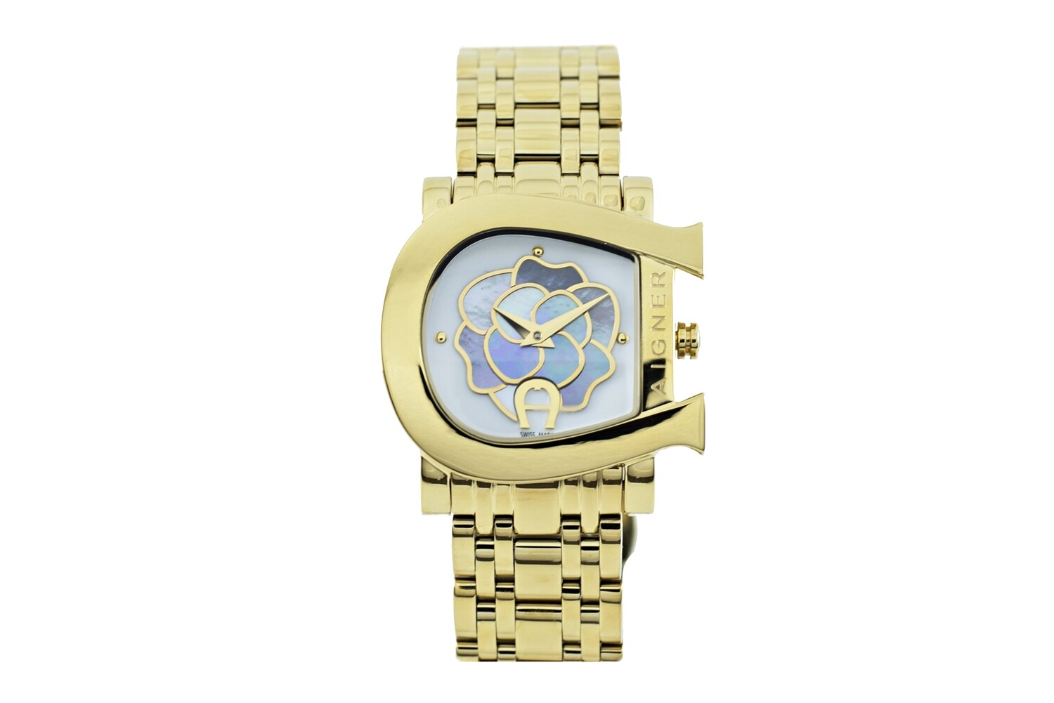 AIGNER GENUA DUE GOLD PLATED