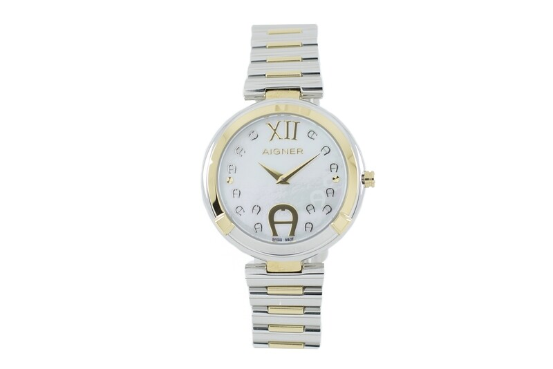 AIGNER Gorizia Silver & Yellow Gold