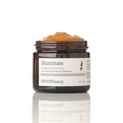 Pumpkin Enzyme Peel // Lactic Acid Resurfacing Treatment