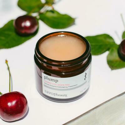 Cherry Collagen Peel // Active Enzyme Exfoliating Treatment