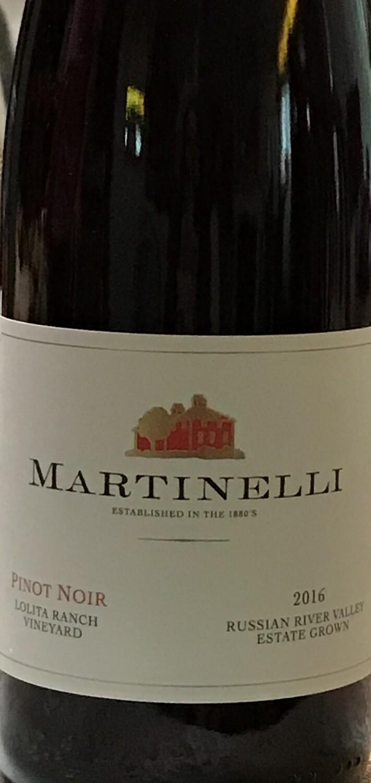 2016 Martinelli Lolita Ranch Vineyard