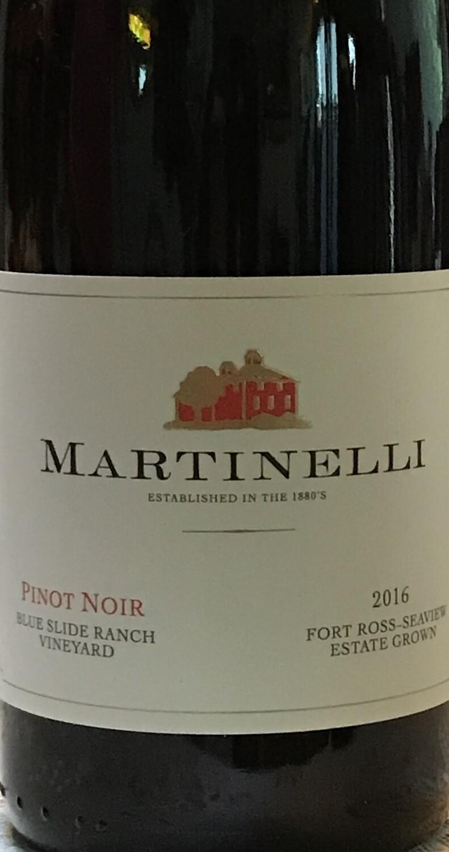 2016 Martinelli Blue Slide Ranch Vineyard