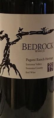 2017 Bedrock Wine Co. Pagani Ranch Vineyard