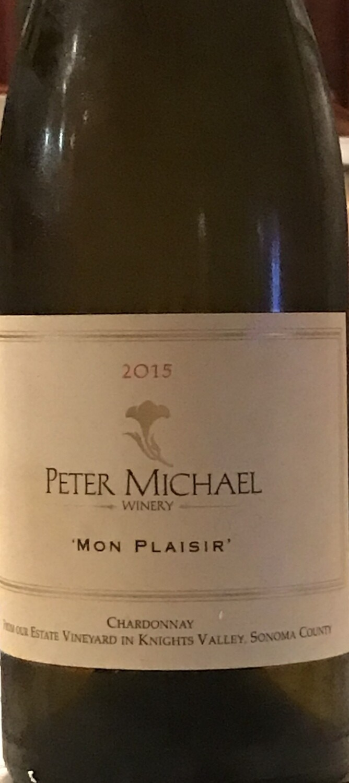 2015 Peter Michael Mon Plaisir