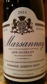 2014 Joseph Roty Marsannay Les Ouzeloy