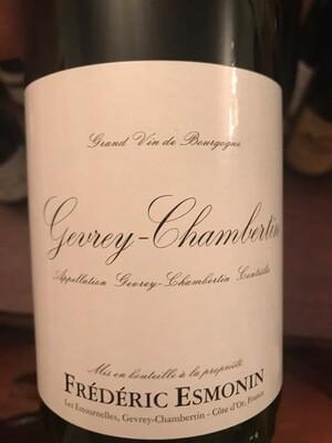 2017 Frederic Esmonin Gevrey Chambertin