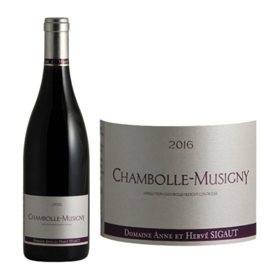 2016 ANNE ET HERVE SIGAUT CHAMBOLLE MUSIGNY