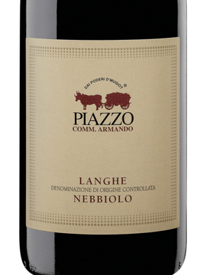 2016 Comm. Armando Piazzo Langhe Nebbiolo