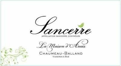 2019 Chaumeau La Maison d Anais Sancerre Blanc