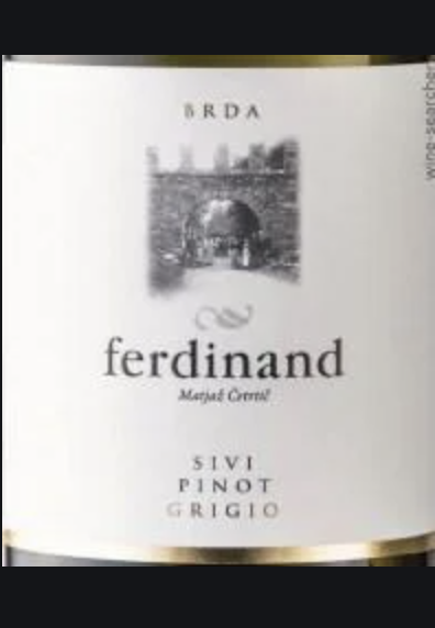2016 Ferdinand Winery Pinot Grigio