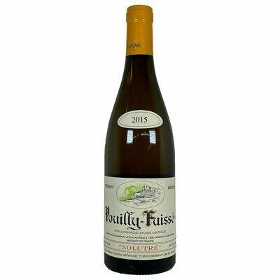 2015 Vins Auvigue Pouilly Fuisse Solutre