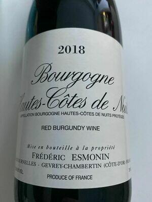 2018 Frederic Esmonin Bourgogne Hautes Cote de Nuites Rouge