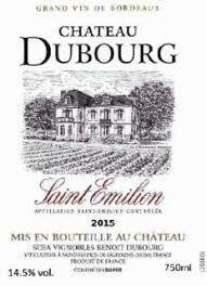 2015 Chateau Dubourg Saint Emilion