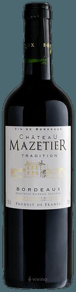 2018 Chateau Mazetier Bordeaux