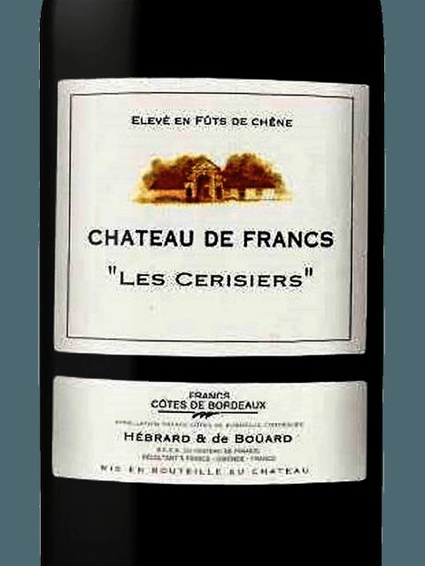 2018 Chateau de Francs les Cerisiers