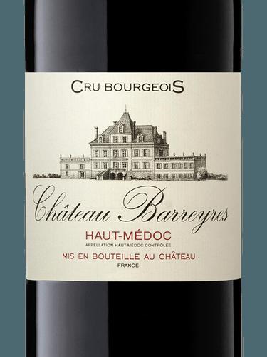 2018 Chateau Barreyres