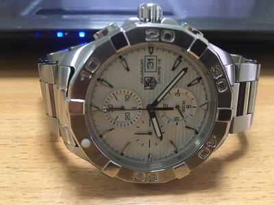 Tag Hauer Aquaracer watch diving quartz watch, часы для дайвинга, плавания кварцевые