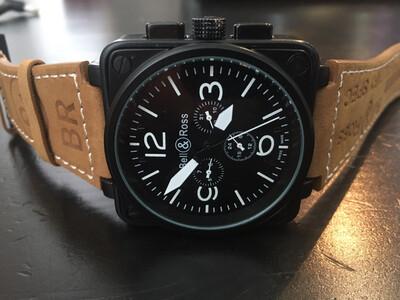 Bell & Ross watch automatic mens, мужские автоматические часы