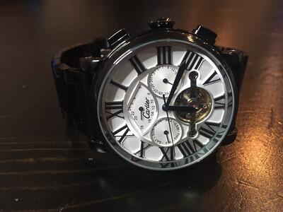 Cartier automatic watch mens, мужские автоматические часы