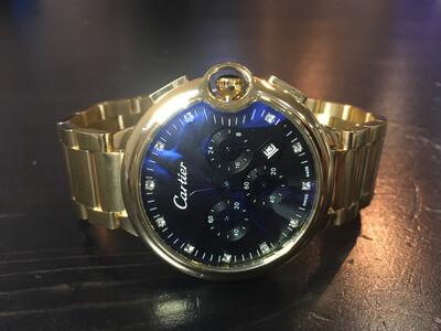 Cartier quartz watch mens, мужские кварцевые часы