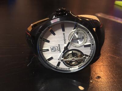 Tag Hauer Grand Carrera Pendulum mechanic watch, механические часы мужские