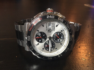 Tag Hauer Formula 1 quartz watch, часы кварцевые хронограф