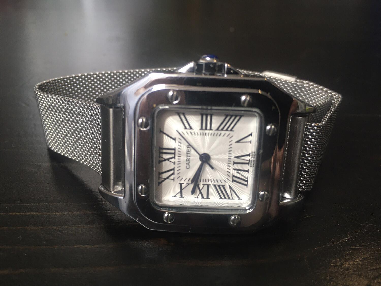 Cartier watch women guartz