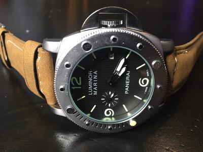 Panerai Luminor Marina mens watch quartz, часы кварцевые мужские