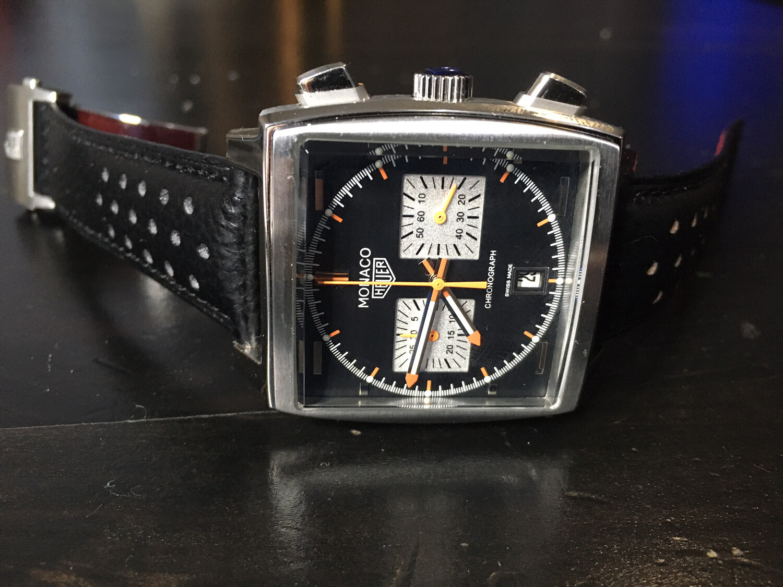 Tag Hauer Monaco quartz watch mens chronograph, часы кварцевые мужские хронограф