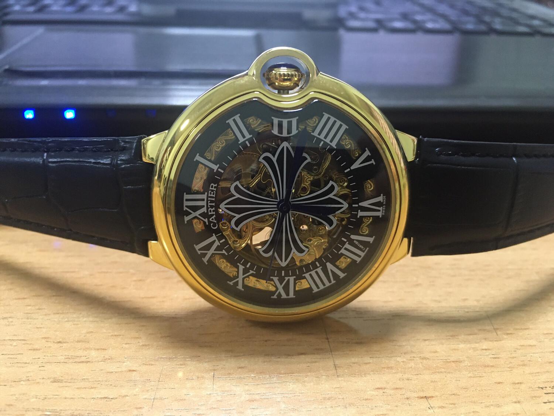 Cartier watch mens automatic, часы мужские автоматические