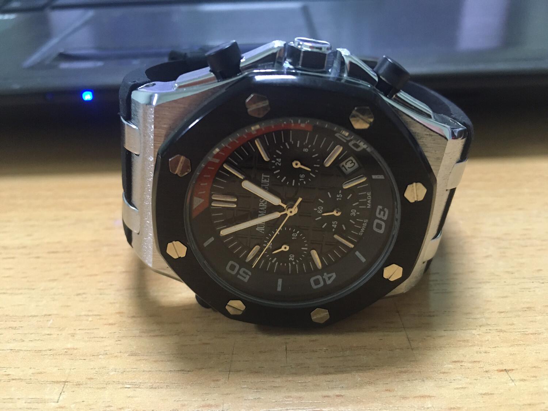 Audemars Piguet watch mens quartz, мужские кварцевые часы