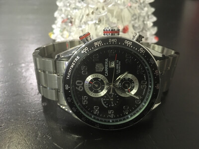Tag Heuer Carrera calibre 16 mens mechanical automatic watch