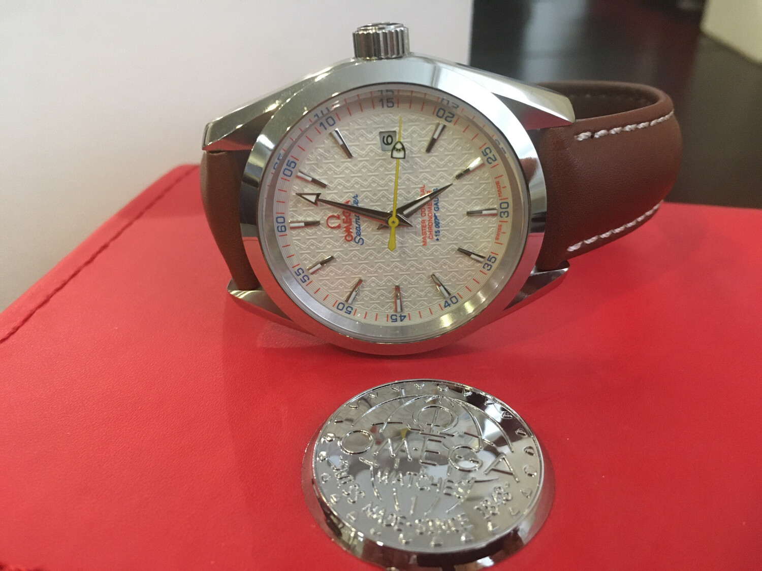 Omega Seamaster diving watch mens