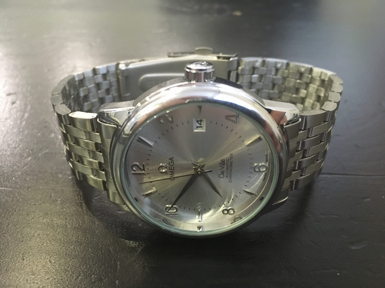 Omega De Ville watch mens automatic