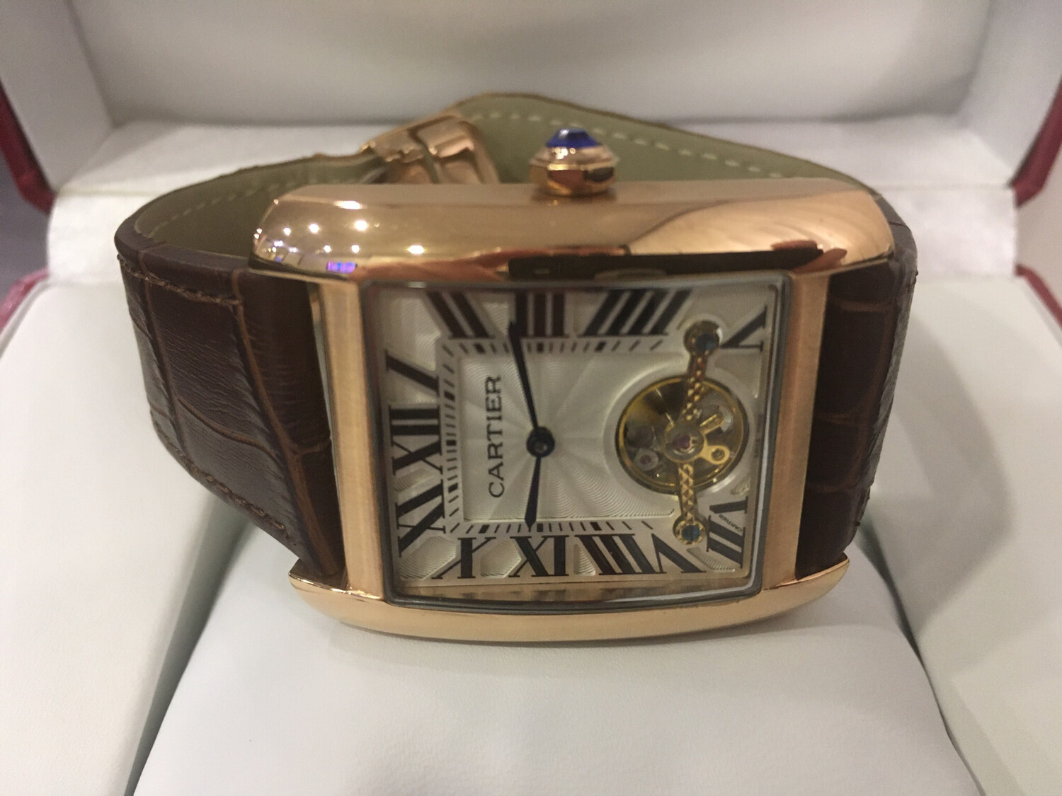 Cartier watch mens automatic