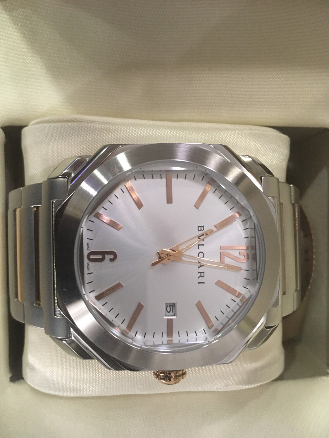 Bvlgari Octo watch mens automatic