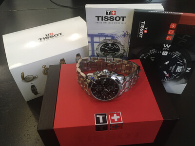 Tissot 1853 watch mens quartz chronograph