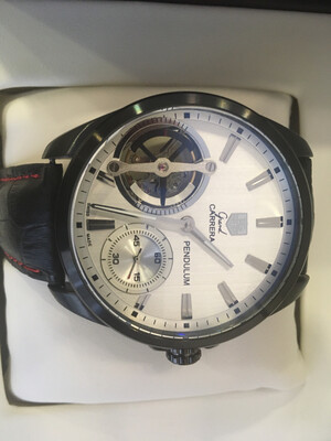 Tag Heuer Carrera watch mens mechanic