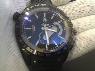 Tag Heuer Carrera watch mens automatic