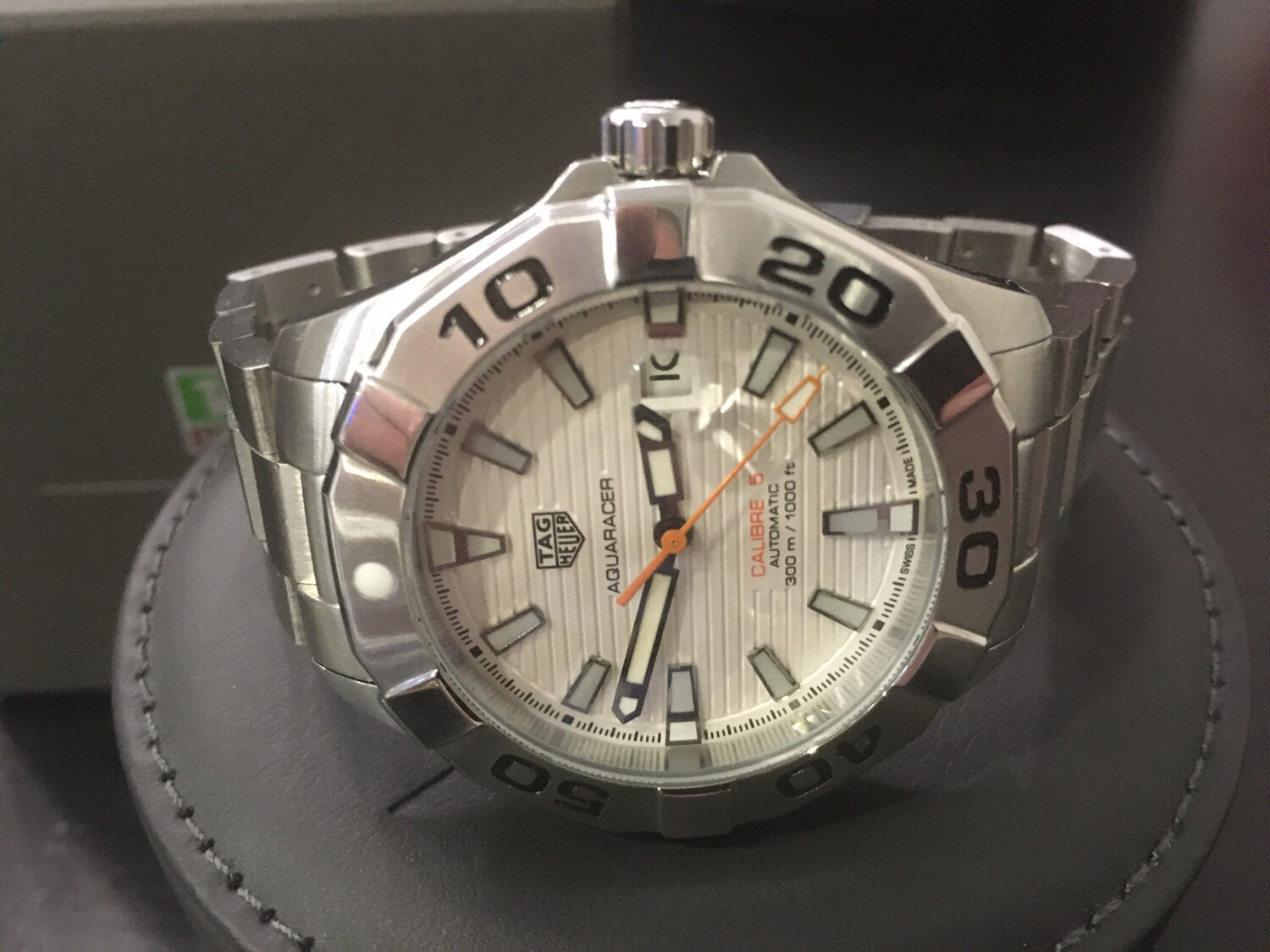 Tag Heuer aquaracer watch mens automatic
