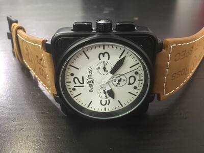 Bell & Ross watch mechanical automatic