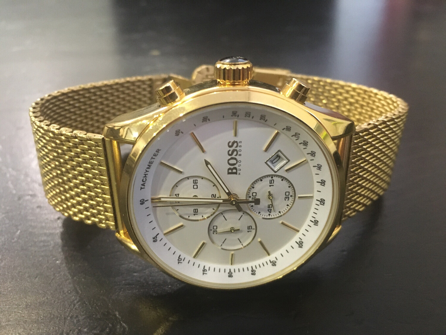 Boss hugo boss watch mens quartz chronograph