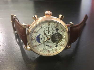 Patek Philippe watch men's automatic mechanical